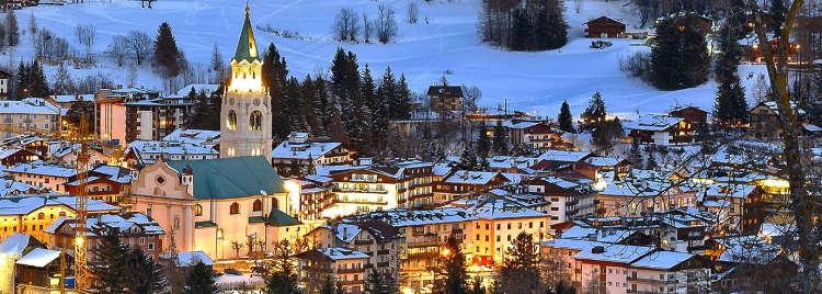 Vacances au ski à Cortina