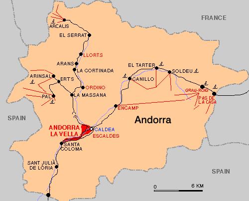 Andorre séjour au ski