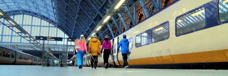 Vacances au ski En train eurostar