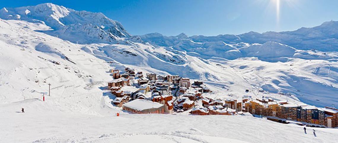 Vacances de ski à Val Thorens