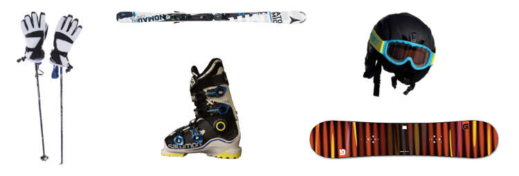 A few tips to get you started - Ski Gear