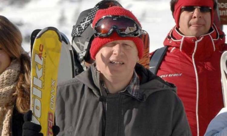 A ski helmet could save a broken leg
