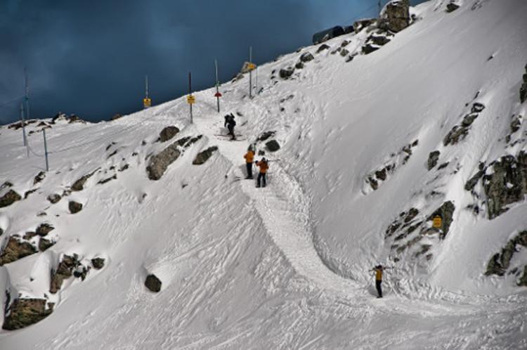 Whistler ski resort, Canada
