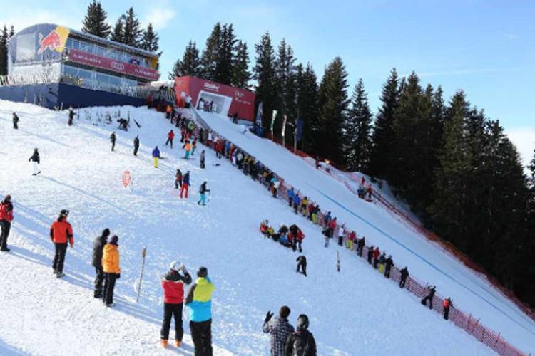 Kitzbuhel ski resort, Austria