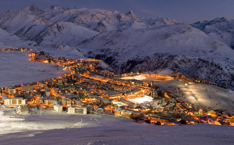 Alpe d' Huez, best off piste skiing