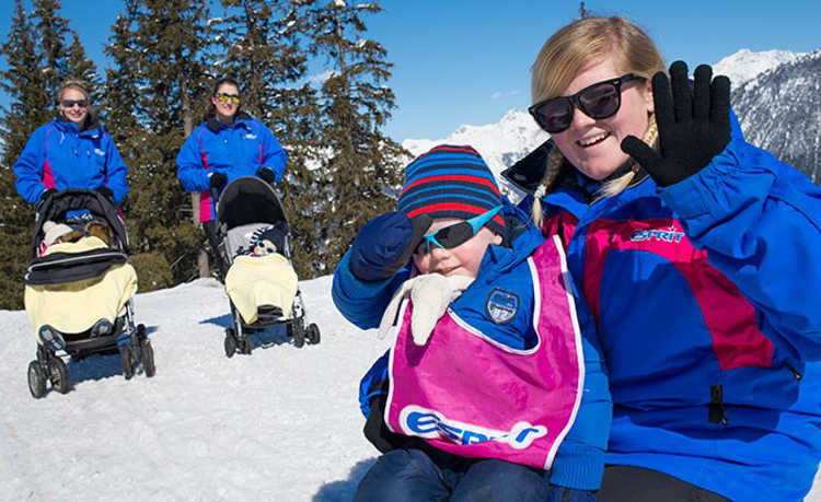 Childcare in the Alps