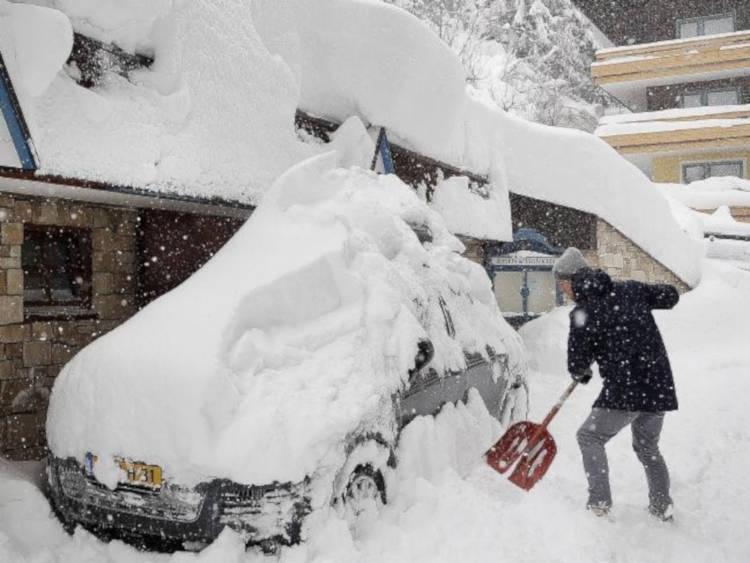 Austria see more than its fair share of snow