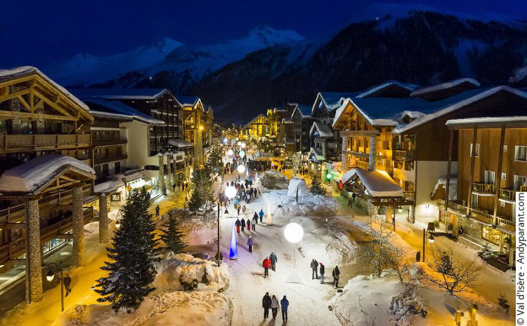 Val d'Isere Town