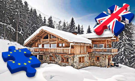 Brexit blamed for a reduction in catered ski chalet nights
