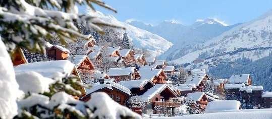 Catered ski chalets in Three Valleys