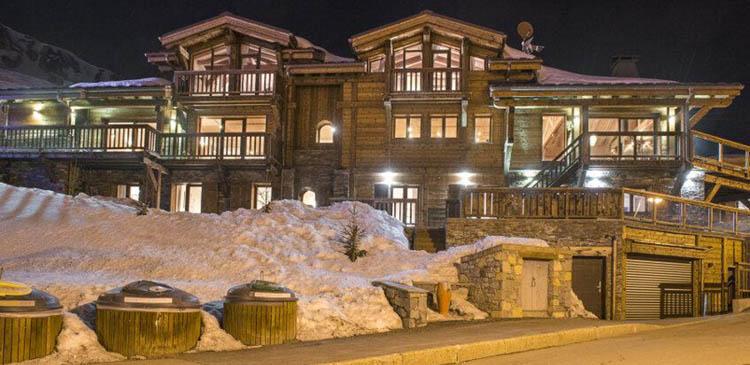 Ski chalet Ambre in the popular French ski resort of Tignes