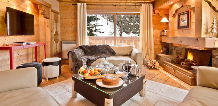 Ski chalet Brioche in the popular French ski resort of Meribel