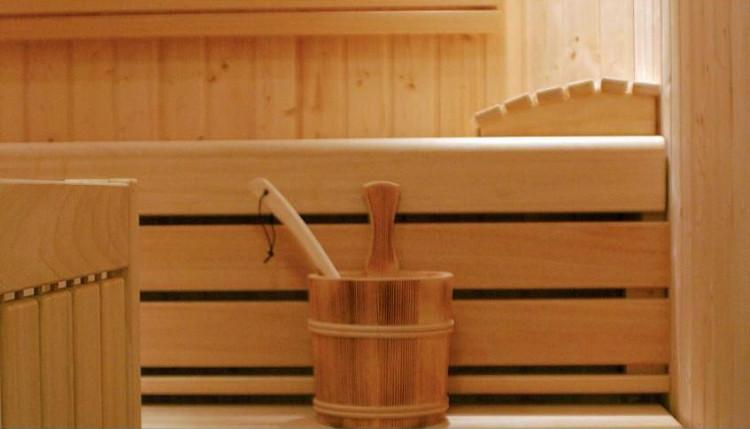 Chalet Little Haus, Sauna