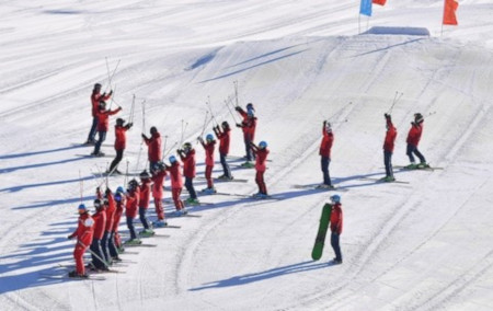 China gears up to host the winter Olympics in 2022, but will they ever ski in Europe?