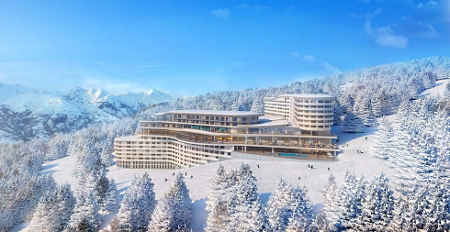 Club Med raises the bar for skiing holidays in Les Arcs