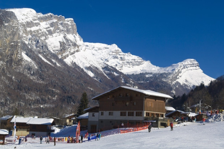 Shhhhhhh...don't tell anyone about the Grand Massif ski area!