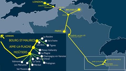 Eurostar Route