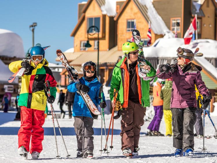 Family Ski Holidays Canada