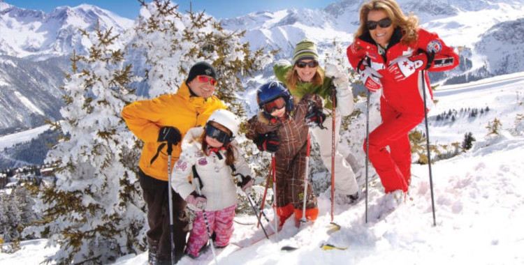 Family Ski Holidays, Courchevel, France