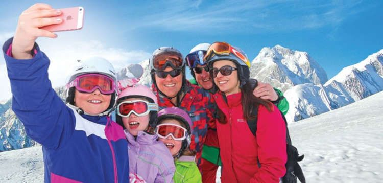 Family Ski Holidays February 2020