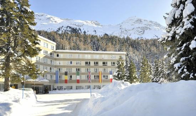 Club Med hotel in St Moritz