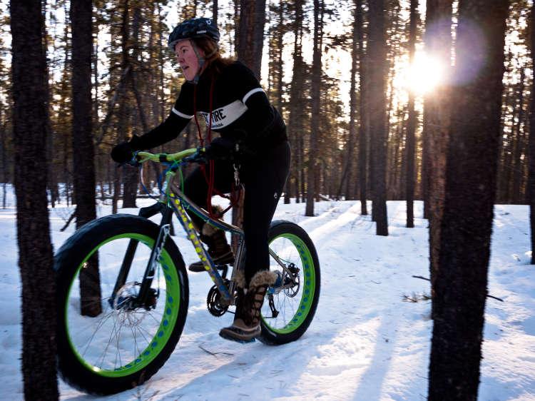 Fun Activities in Les Arcs - Fat Biking