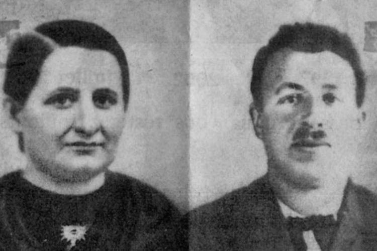 Marcelin and Francine when missing in 1942