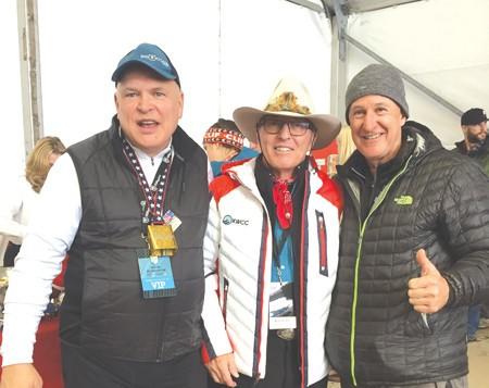 Hard core skier, 65 set to achieve a new world ski record