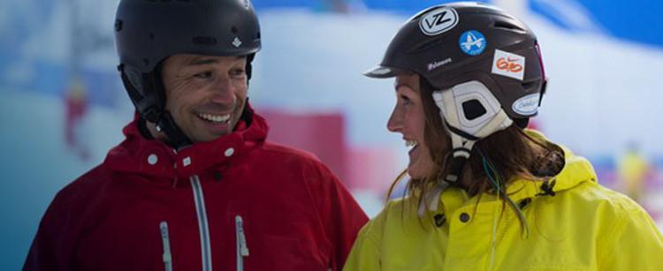 Indoor Snow Centre in Helmet makes the wearing of helmets Obligatory
