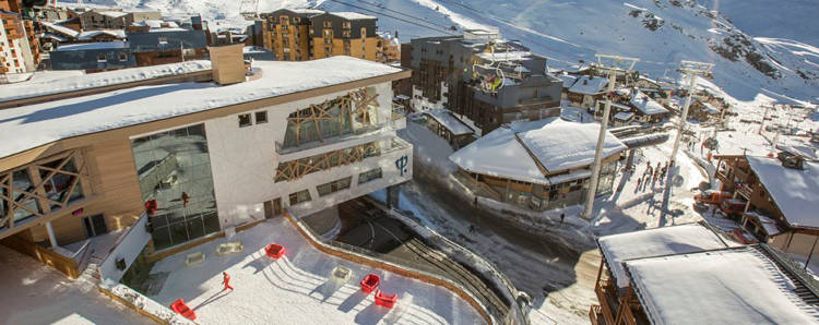 The venue for the 2018 end of season trip is Club Med's Sensations in Val Thorens