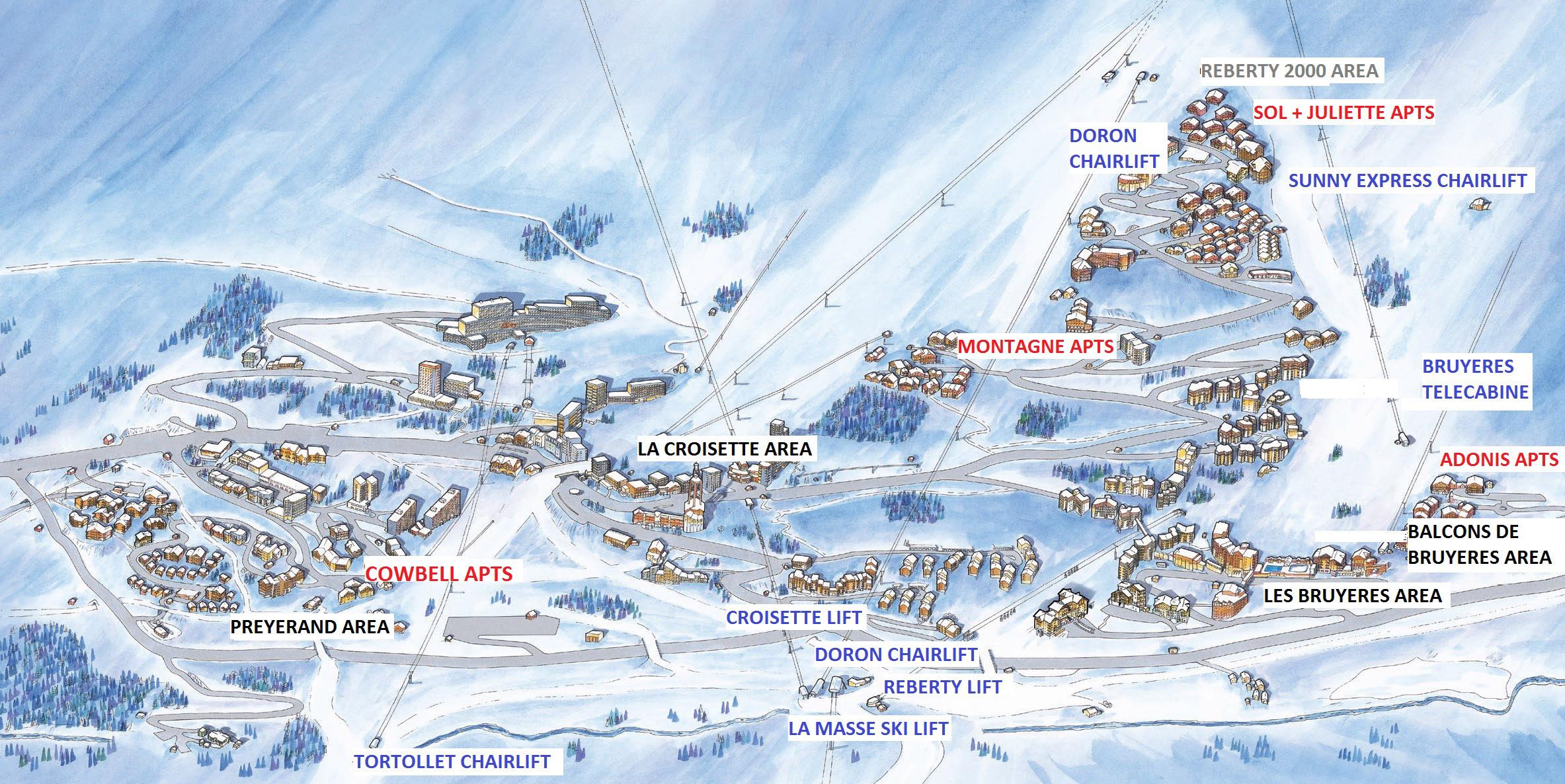 Reberty 2000 Ski Resort France Ski Line