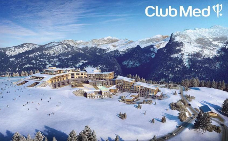 The new Club Med hotels opens December 2017