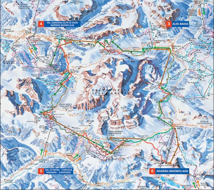Offres de ski Sella Ronda Dolomites