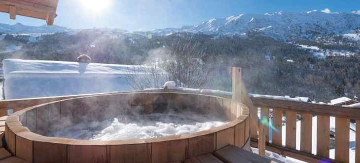 Catered Ski Chalet with Hot Tub