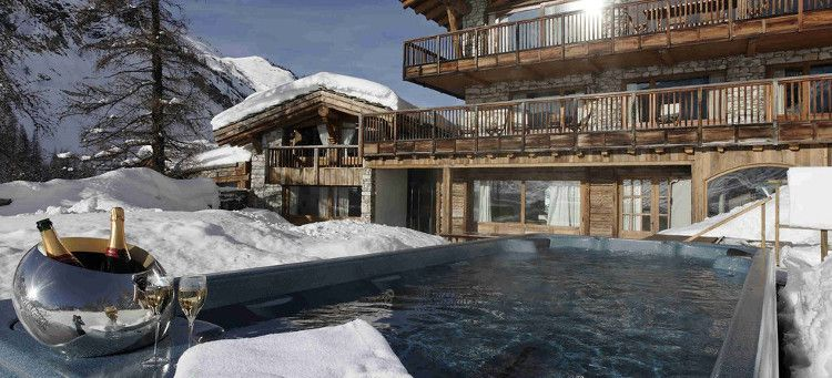 Ski Chalets with a Hot Tub