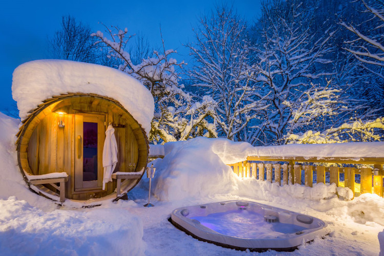 Ski Chalets with a Sauna