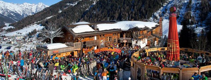 Mooserwirt bar in the Austrian ski resort of St Anton