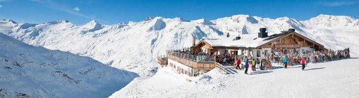 Austrian ski resort of Obergurgl