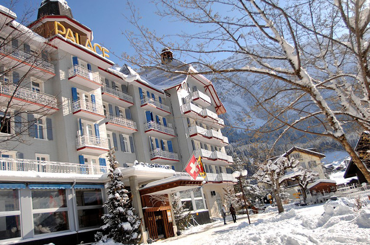 Club Med's Wengen all-inclusive hotel is popular with Ski Lines clients