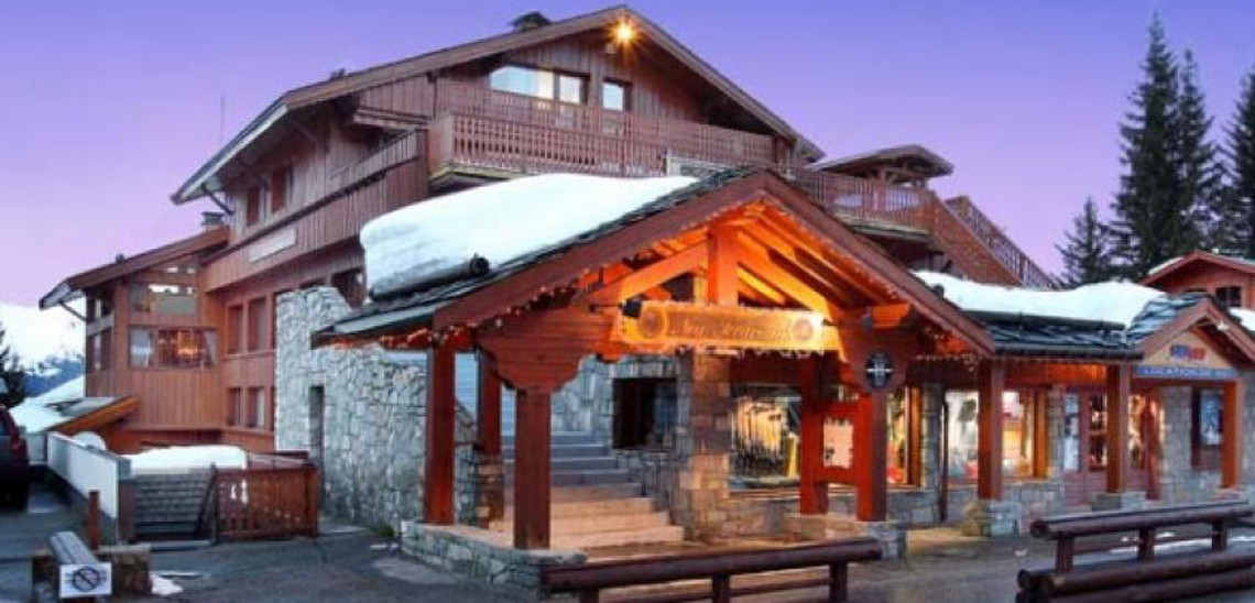 Hotel New Solarium, Courchevel