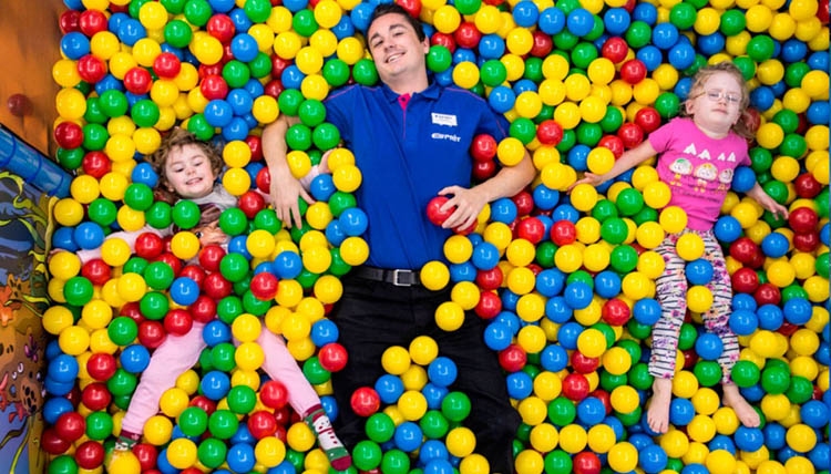 Soft play zone is ideal for families looking for a hotel in Courchevel.