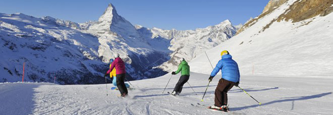 Ski resorts for intermediate skiers
