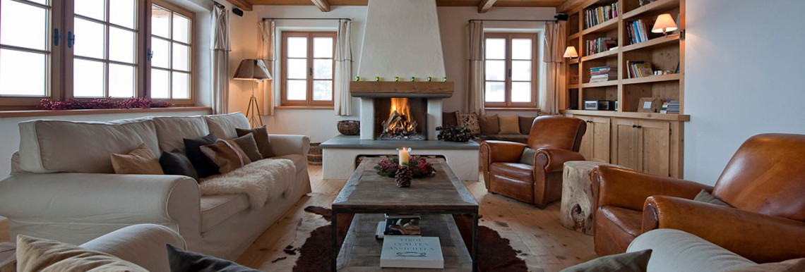 Our luxury ski chalets in St Anton are a popular alternative to a hotel in St Anton for groups.