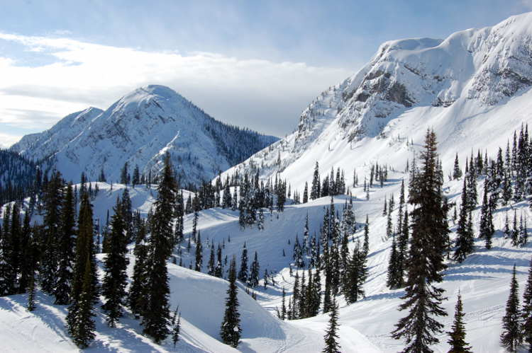 Skiing in Europe and North America