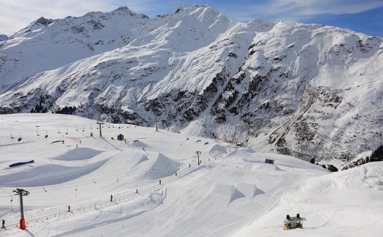 St Anton Best off piste ski resort