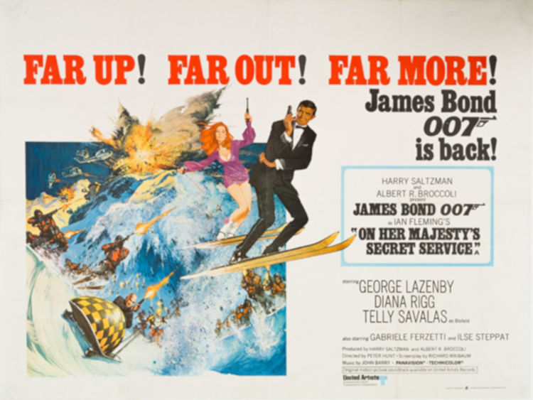 The James Bond museum in Murren is worth a visit