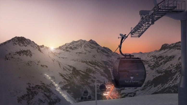 The New Solaise Gondola And Ski Area