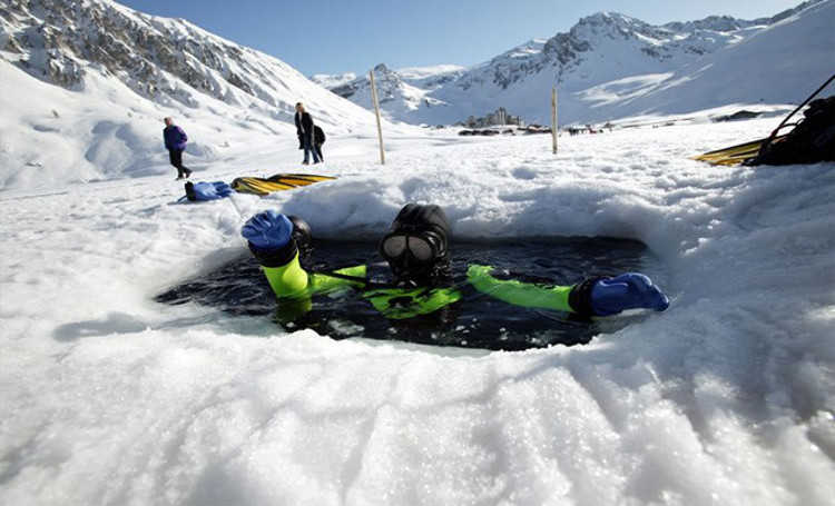 Non-skiers, things to do in Tignes