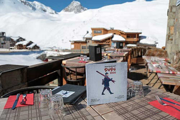 Restaurants in Tignes