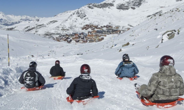 Think Courchevel for Family skiing holidays